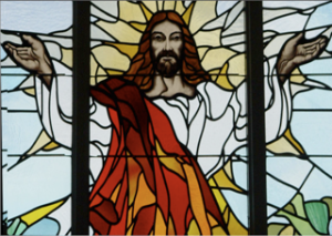 Christ Stain Glass
