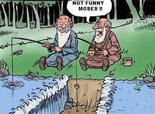 Moses Fishing
