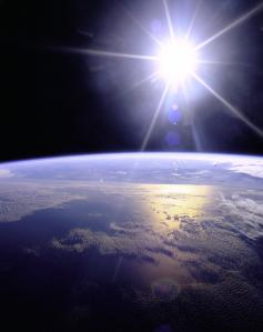 Sunburst_over_Earth