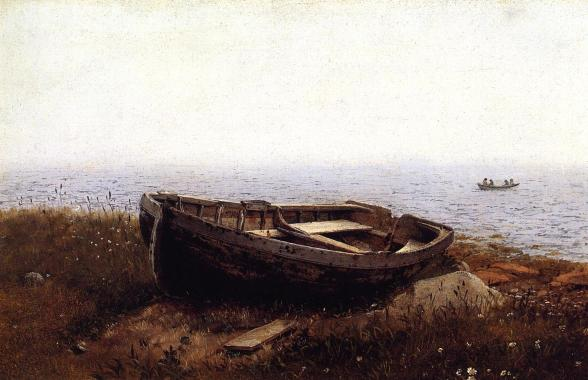The_Old_Boat_Frederic_Edwin_Church_1850